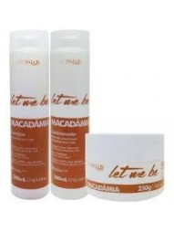 Kit Manutencao Macadamia Let Me Be Prosalon