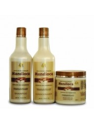 Kit Manutencao Mandioca La Cosmeticos 500ml