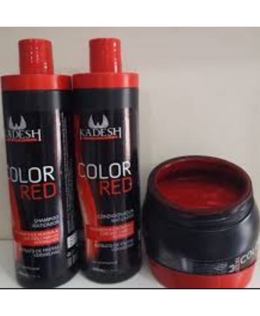 Kit Matizador Color Red Kadesh 500ml