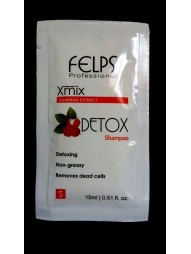 Sache Shampoo Detox Guarana Extract Felps 15g