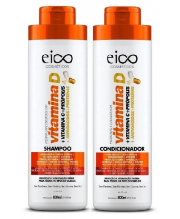 Kit Vitamina D Eico 2x800ml