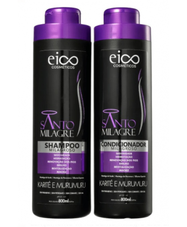 Kit Santo Milagre Eico 2x800ml