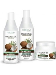 Kit Manutencao Coconut Oil Ferrugem Cosmeticos 500ml