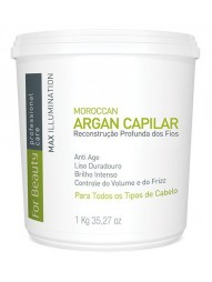 Botox Capilar Argan For Beauty 1Kg