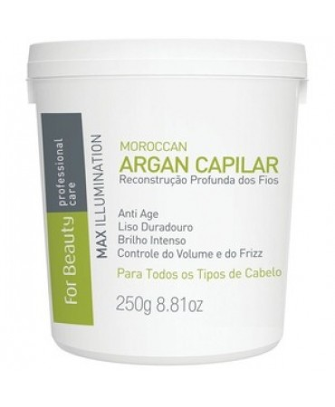 Botox Capilar Argan For Beauty 250g