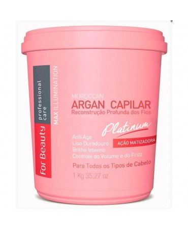 Botox Capilar Matizado For Beauty 1Kg