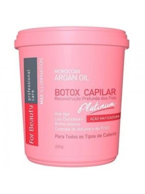 Botox Capilar Matizado For Beauty 250g