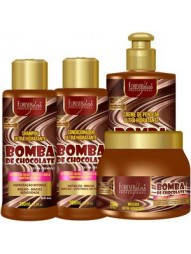 Kit Tratamento Bomba de Chocolate Forever Liss