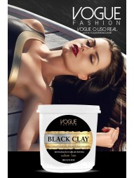 Botox Capilar Lama Negra Black Clay Vogue 1Kg