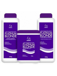 Kit Desamarelador Platinum Blonde La Cosmeticos 500ml