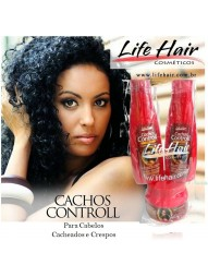 Kit Cachos Controll Life Hair 3x500ml (Na Bolsinha)