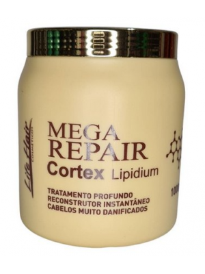 Máscara Mega Repair Cortex Lipidium Life Hair 1Kg