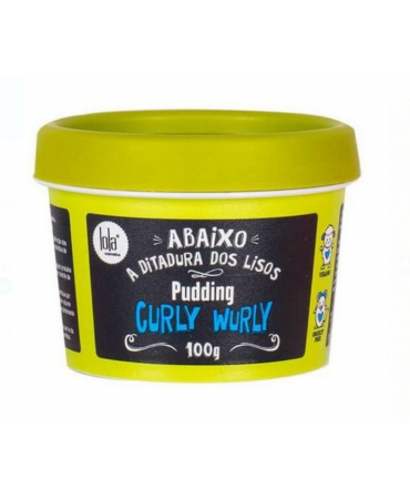 Máscara Curly Wurly Pudding Lola 100g