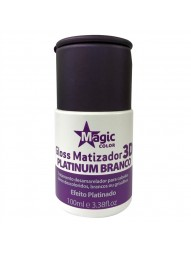 Gloss Matizador 3D Platinum Branco Magic Color 100ml