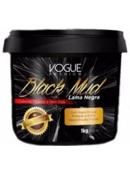 Botox Capilar Lama Negra Black Mud Vogue 1kg