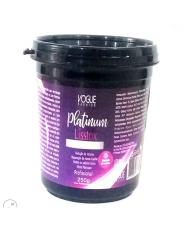 Botox Capilar Platinum Vogue Fashion 250g