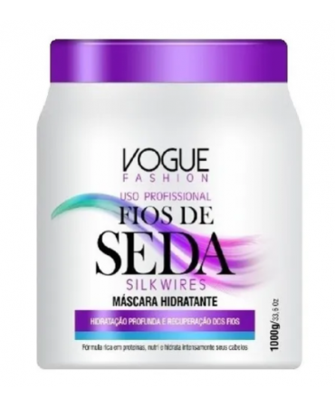 Máscara Fios de Seda Vogue Fashion 1Kg