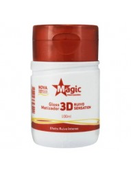 Gloss Matizador 3D Mega Red Magic Color 100ml